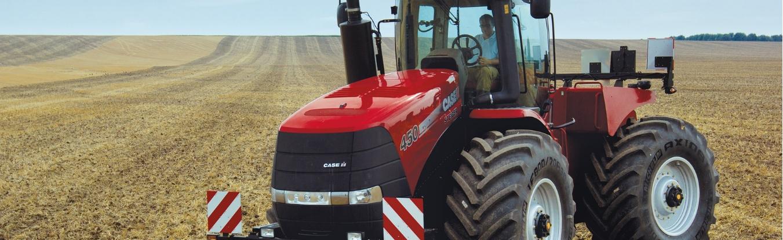 Case ih steiger tractor